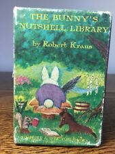The Bunny's Nutshell Library by Robert Kraus 4 Book Set with Slipcase 1965 3.5""