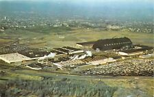 AKRON-OHIO-GOODYEAR-AEROSPACE-COMPLEX--BLIMPS AERIAL VIEW POSTCARD