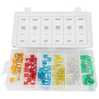 120PCS Assorted Car Fuse Auto Replacement fuses regular size blade ATC ATO ATM Y