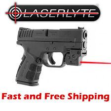 LaserLyte Lyte Ryder Universal Pistol Rail Mount Laser -Lightweight Compact Size