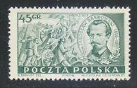 Poland 1951 MNH Mi 685 Sc 499 General Jaroslaw Dabrowski.Paris Commune **