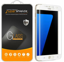2X Supershieldz Samsung Galaxy S7 Full Coverage Tempered Glass Screen Protector