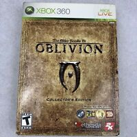 The Elder Scrolls IV Oblivion Collector's Edition Xbox 360 Complete Minus Coin