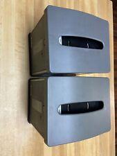 (2) Used Dixie Ultra Napkin Holder Dispenser Easy Nap Gp 54527 Table Top