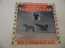 "THE BAND OF THE BLACK WATCH. A MERRY CHRISTMAS. 12"" 33rpm LP Records . 1976."
