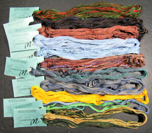 12xNeedlepoint/Embroidery THREAD CARON COLLECTION Watercolor 3 ply cotton-RQ27
