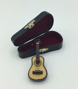 Dolls House Guitar In Case