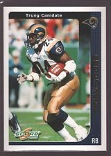 TRUNG CANIDATE 2002 SCORE FINAL SCORE GOLD MINT SP ST. LOUIS RAMS /100 $12