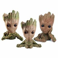 Guardians of The Galaxy Baby Groot Figure Flowerpot Pen Pot Toy Gifts 3 Styles