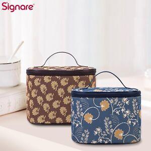 Tapestry Toiletry Bag Cosmetic MakeUp Bag In Jane Austen Oak Design