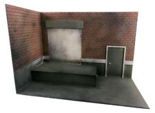 """Loading Dock 5""""/6""""/7"""" Action Figure Diorama Kit Background Scenery Stand 1/12 Sc"""