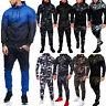 2pcs Mens Tracksuit Set Gym Sports Hoodies Hooded Coat Jackets Pants Bottoms