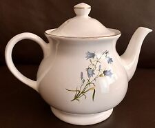 "Large Vintage James Sadler ""Harebell"" English Ironstone Teapot In Lovely Order"