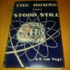 The House that Stood Still HC A. E. Vogt 2nd Printing 1950 Sci-Fi Free Shipping