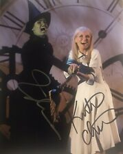 Idina Menzel & Kirstin Chenoweth Wicked Signed Autographed Photo Broadway 8x10