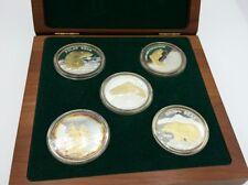 Alaska: The Last Frontier Fine Silver Coin Set