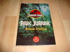 JURASSIC PARK PARC JURASSIC LIBRO PRIMERA EDICION DEL AÑO 1993 EN CATALAN