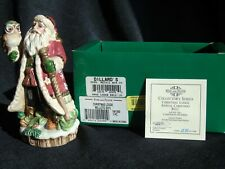 Fitz and Floyd Collector's Series Limited Edition Christmas Lodge Bell 2001