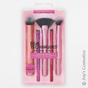 "1 REAL TECHNIQUES Artist Essentials Brush Set ""RT-1895"" *Joy's cosmetics*"