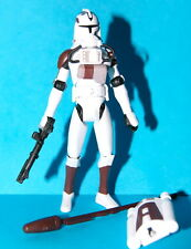 STAR WARS CLONE WARS CLONE TROOPER SPACE GEAR No.21 LOOSE COMPLETE