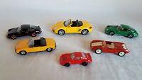 Lot  6 Porsche Model Cars Including Brumm Porsche 550RS Jouef Evolution Porsche
