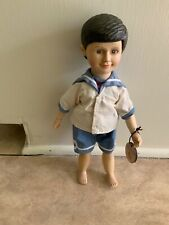 Robert Raikes Timothy Fully Jointed Wooden Doll * Hand Signed by Robert ! EXTRAS