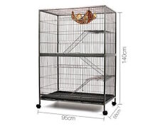 3 Level Cat Pet Ferret Hamster Bird Cage Aviary Rat Mouse Enclosure House Home