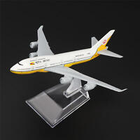 New 16cm Aircraft Plane Boeing 747 Royal Brunei Airlines Aircraft Diecast Model