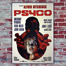 Movie Poster Psyco - Hitchcock - Size:70x100 CM