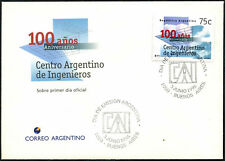 Argentina 1995 Engineers Centre FDC First Day Cover #C43377