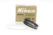 Nikon 52mm NO. 2 Close Up Lens                                              #693
