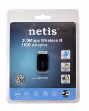 NEW SEALED--Netis WF2123 300Mbps NANO Wireless-N USB Adapter
