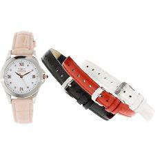 Invicta Women's Angel 12544 Pink Leather Swiss Quartz Fashion Watch