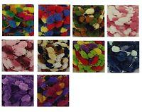 PomPom Multi-Colour Pom Pom Yarn (120g) Balls 12 Colours