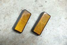 87 Honda CH 150 CH150 Elite Scooter yellow orange reflectors