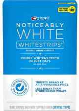 Crest Noticeably White Whitestrips 20 ea (Pack of 2)