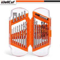 WellCut WC-DB22 High Quality Universal Shank HSS Drill & Screwdriver Bit Set