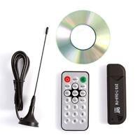 NEW USB DVB-T & RTL-SDR Realtek RTL2832U & R820T DAB FM Tuner Receiver MCX Input