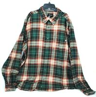 Mens Marmot Plaid Flannel Long Sleeve Button Down Shirt Size 2XL