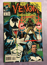 Venom Funeral Pyre #3 (1993 Marvel) Starring the Punisher & Pyro (death also)~Nm