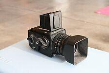 Hasselblad 501CM Medium Format Black SLR Film Camera with 80 mm lens Kit
