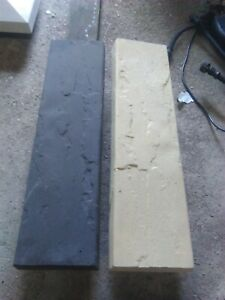 """Coping stones, 160mm x 600mm (6.5""""x 24"""") Stone effect, various colours, delivery"""