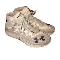 Men's Under Armour Project Rock Delta Training Shoes City Khaki 3020175-200  14M