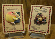 Boyds Fridgewear Magnets #26904 Myrtle Mae Peachiebeary & #26907 Willie O'Chili