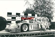 Photo Porsche 962 Pierre de Thoisy Paul Belmondo Michel Trollé Le Mans 1987