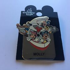WDW - Monorail MOLLY Name Pin FAB 4 Mickey Minnie Goofy Donald Disney Pin 15004