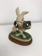 Alice In Wonderland Vintage Resin Rabbitt Figurine