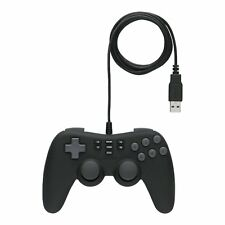 iBuffalo Japan Gaming USB Gamepad 16button Shot vibration PC Windows BSGP1601BK