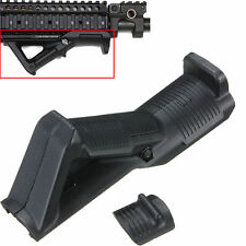 Tactical Angled Foregrip Hand Guard Front Grip for Picatinny Quad Rail For 15 BK
