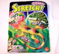 CARDED STRETCH LIZARD TOYS party favor supplies toy novelty fake reptile new